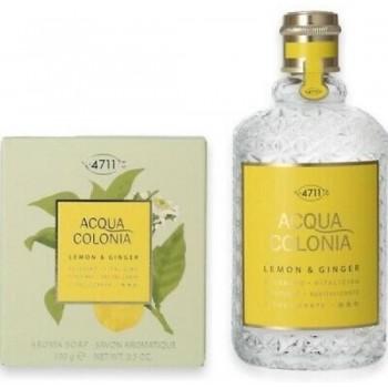 Coffret eau de Cologne Citron & Gingembre  (edc vapo 170 ml + savon 100 gr)