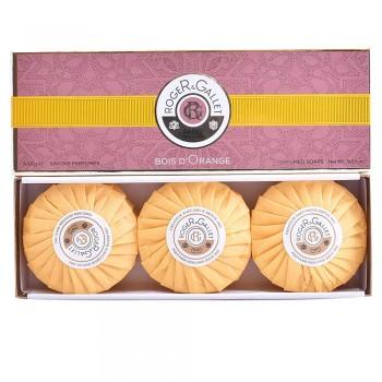 BOIS D'ORANGE savons parfumés 3 x 100 gr