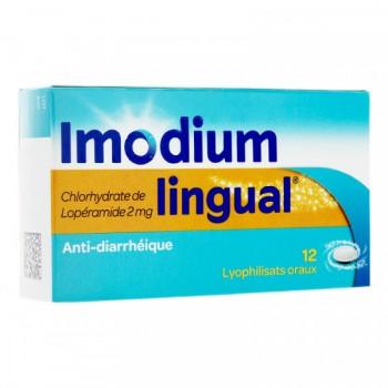 IMODIUMLINGUAL 2MG BTE 12