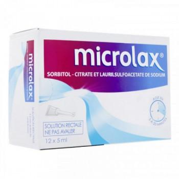 MICROLAX SODIUM SOL RECTALE BTE 12