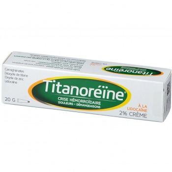 TITANOREINE LIDOCAINE 2% CREME TUBE 20G