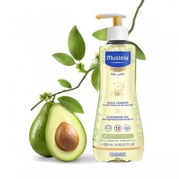 MUSTELA huile lavante  peau sèche 500ml