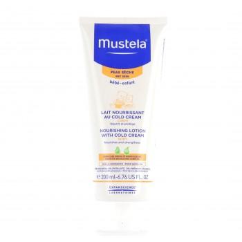 MUSTELA Lait Nourissant cold cream peau sèche 200ml