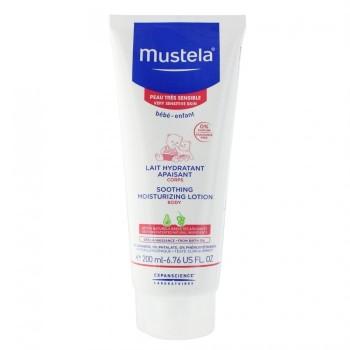 MUSTELA Crème hydratante apaisante peaux sensibles 200ml