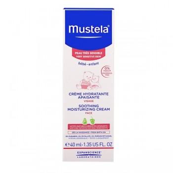 MUSTELA Crème hydratante apaisante peaux sensibles 40ml