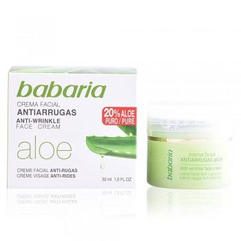 Crème visage anti rides Aloe Vera 50ml