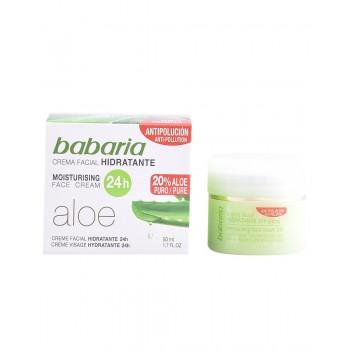 Crème visage hydratante Aloe Vera 50ml
