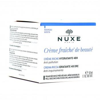 CRÈME FRAÎCHE DE BEAUTÉ crème riche hydratante 48h 50 ml