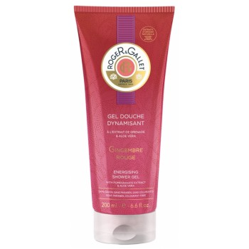 GINGEMBRE ROUGE gel douche dynamisant 200ml