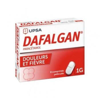 DAFALGAN 1G - Carton 160 x DAFALGAN 1G BTE 8 CPR PELL