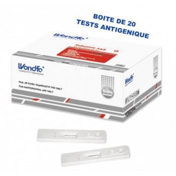 TEST RAPIDE ANTIGENE COVID-19 (20 TESTS) - NASO-PHARYNGÉ