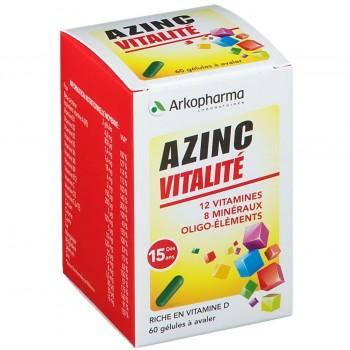 AZINC FORME VITALITE GEL DES 15ANS FL/60