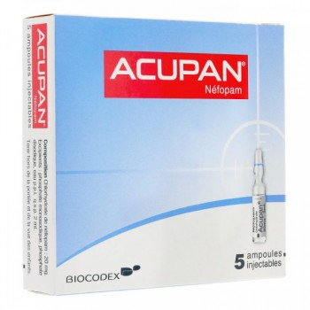 Acupan - Carton 120 x ACUPAN SOL INJ BTE 5 AMP