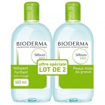 BIODERMA SEBIUM H2O SOL PG S/RINC 500ML LOT 2