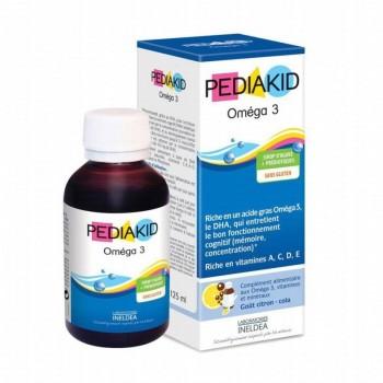 PEDIAKID OMEGA3 SP FRAMBOISE FL/125ML