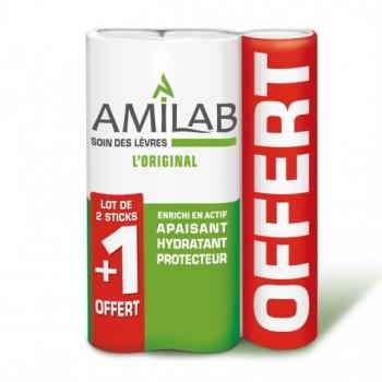 AMILAB STICK SOIN LEV 3,6ML 2+1G
