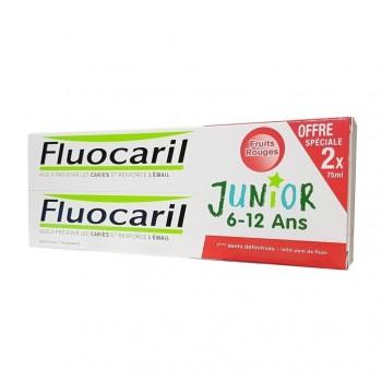 Fluocaril 6-12 Fruits Rouge 75ml x2