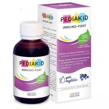 PEDIAKID IMMUNO-FORTIFIANT SP MYRTILLE FL 250ML