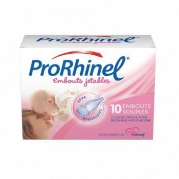 PRORHINEL EMBOUTS JETABLES SOUPLES BTE 10