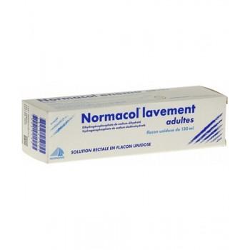 NORMACOL LAVEMENT ADULTES FL130ML CS-50