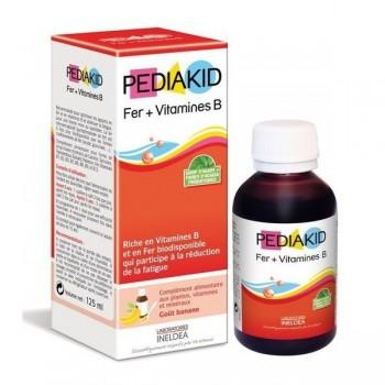 PEDIAKID FER + VITAMINES B 125ml