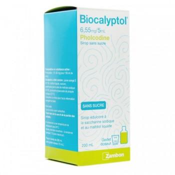 BIOCALYPTOL 6,55MG/5ML SS FL200ML