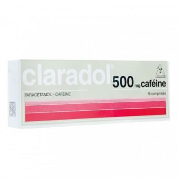 CLARADOL CAFE 500 SEC BTE 16 CPR