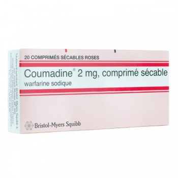 COUMADINE 2MG BTE 20 CPR