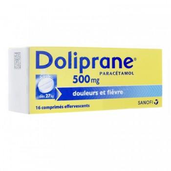 DOLIPRANE ADULTE 500MG EFF TUBE 16 CPR--NXP COVID--