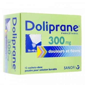 DOLIPRANE ENF 300MG SUPP BTE 10