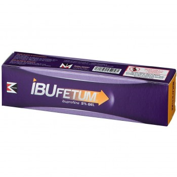 IBUFETUM GEL 5%  TUBE 60G