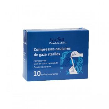 COMPRESSES stériles OCULAIRES  b/10