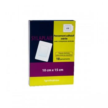 SYLAPLAIE  Pansement adhésif stérile 10 x 15 cm b/10