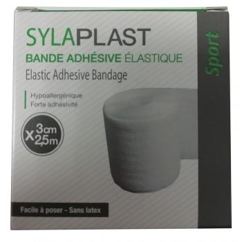 SYLASTRAP Bande adhésive élastique  2,5 m x 3 cm
