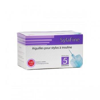 SYFAFINE    Aiguilles  stylo insuline 32G x  5mm b/100