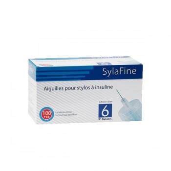 SYFAFINE    Aiguilles  stylo insuline 31G x 6mm b/100