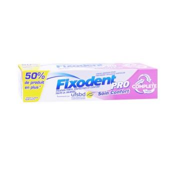 FIXODENT PRO COMPLETE SOIN CONFORT CR ADH 70G