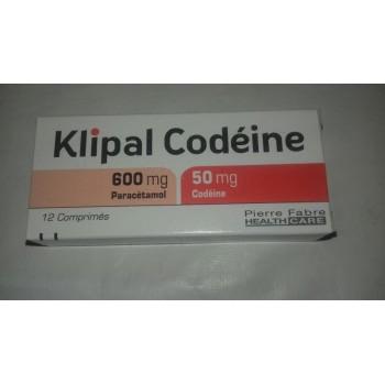 KLIPAL CODEINE 600MG/50MG BTE 12 CPR