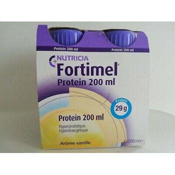 FORTIMEL PROTEIN VANILLE BOUT4X200ML